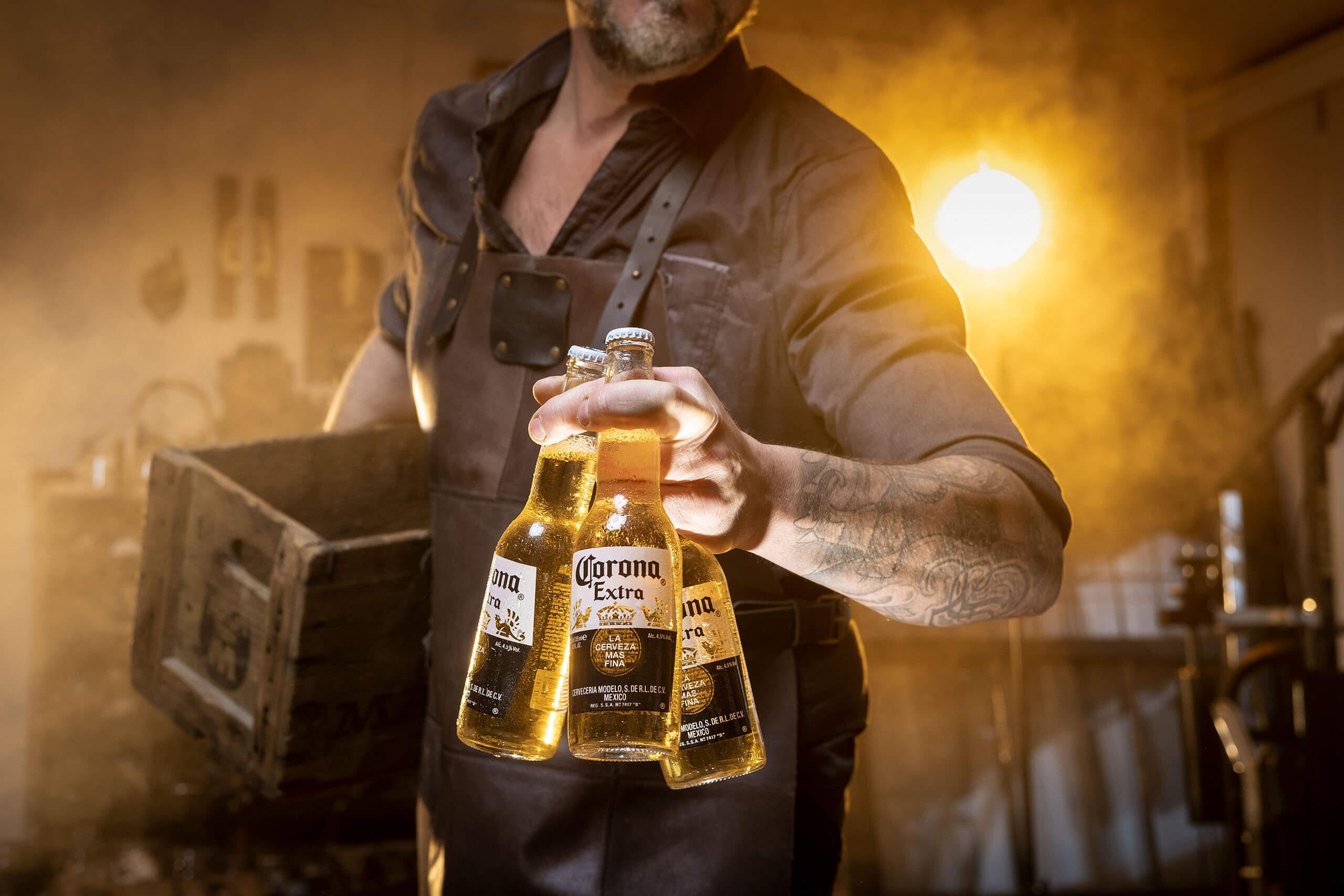 topfotograaf reclame merk campagne vormgever reclamebureau Corona identiteit