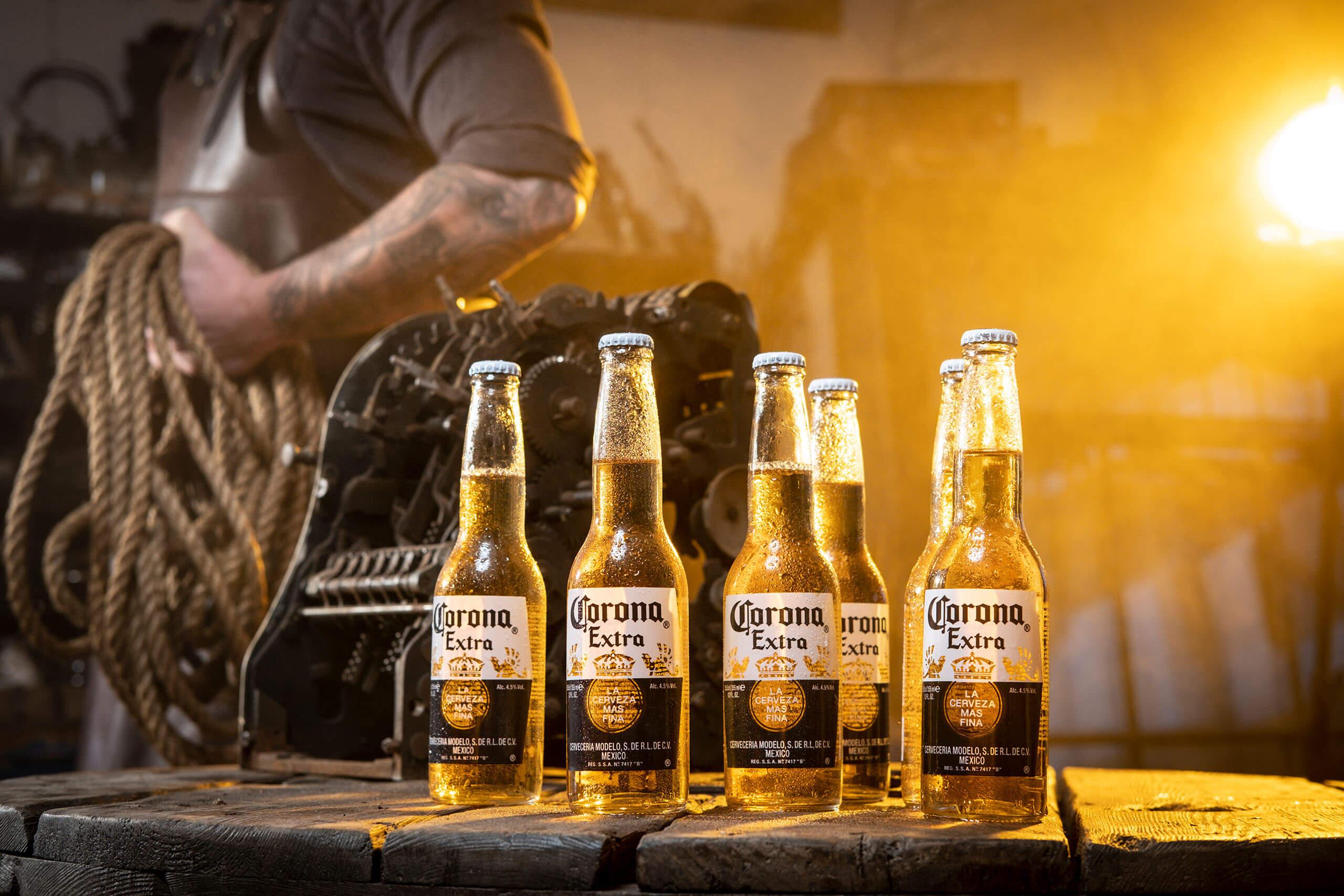 reclamefotografie corona bier