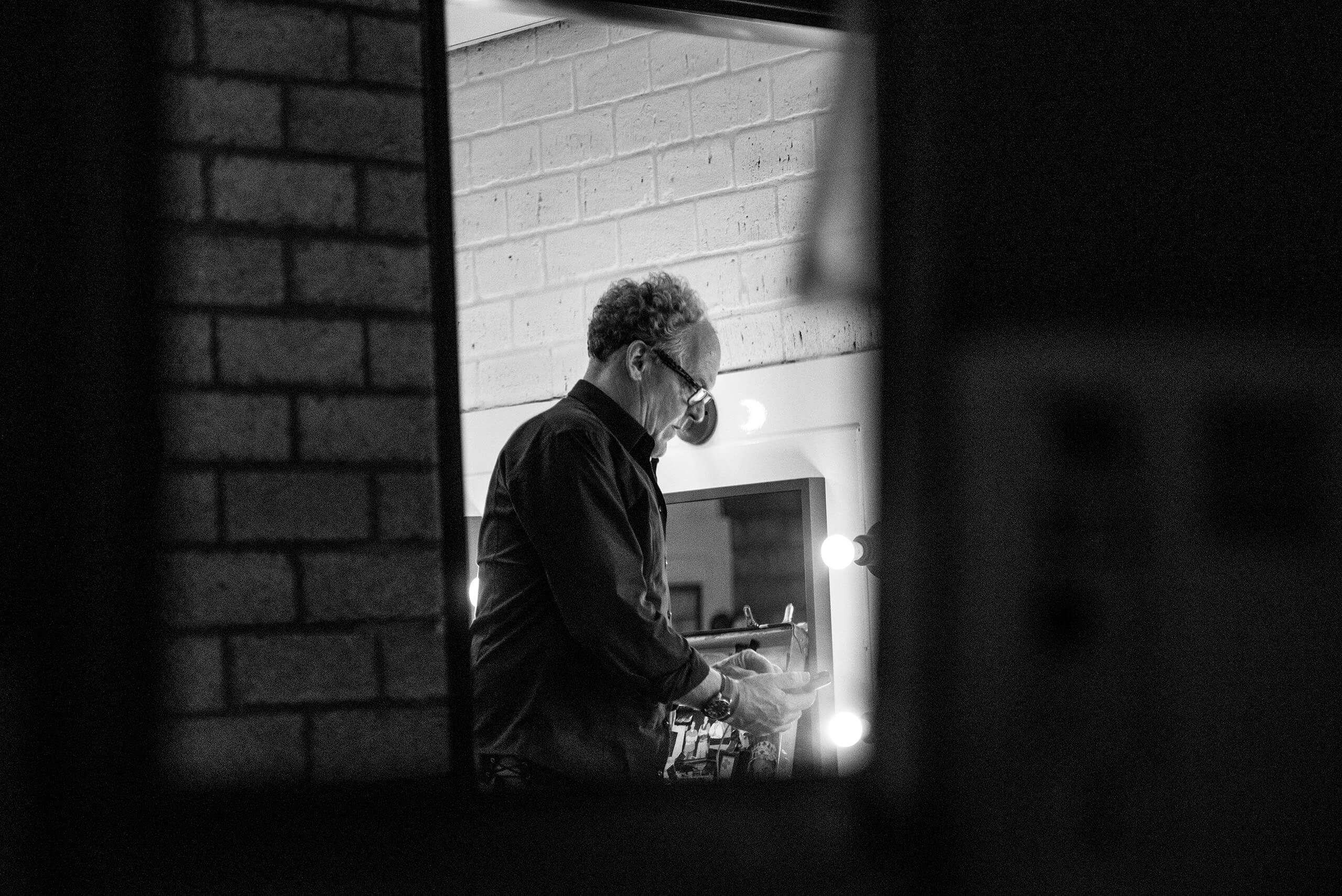 Bert Visscher back stage fotografie theater