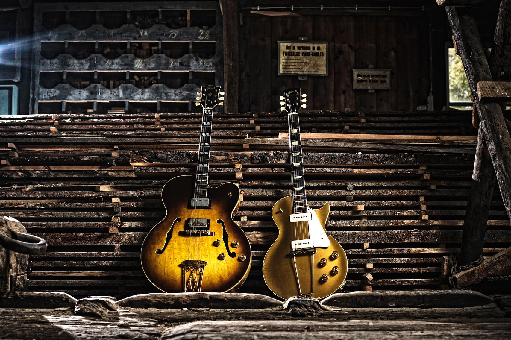 Gibson guitars gitaren wood hout luthier