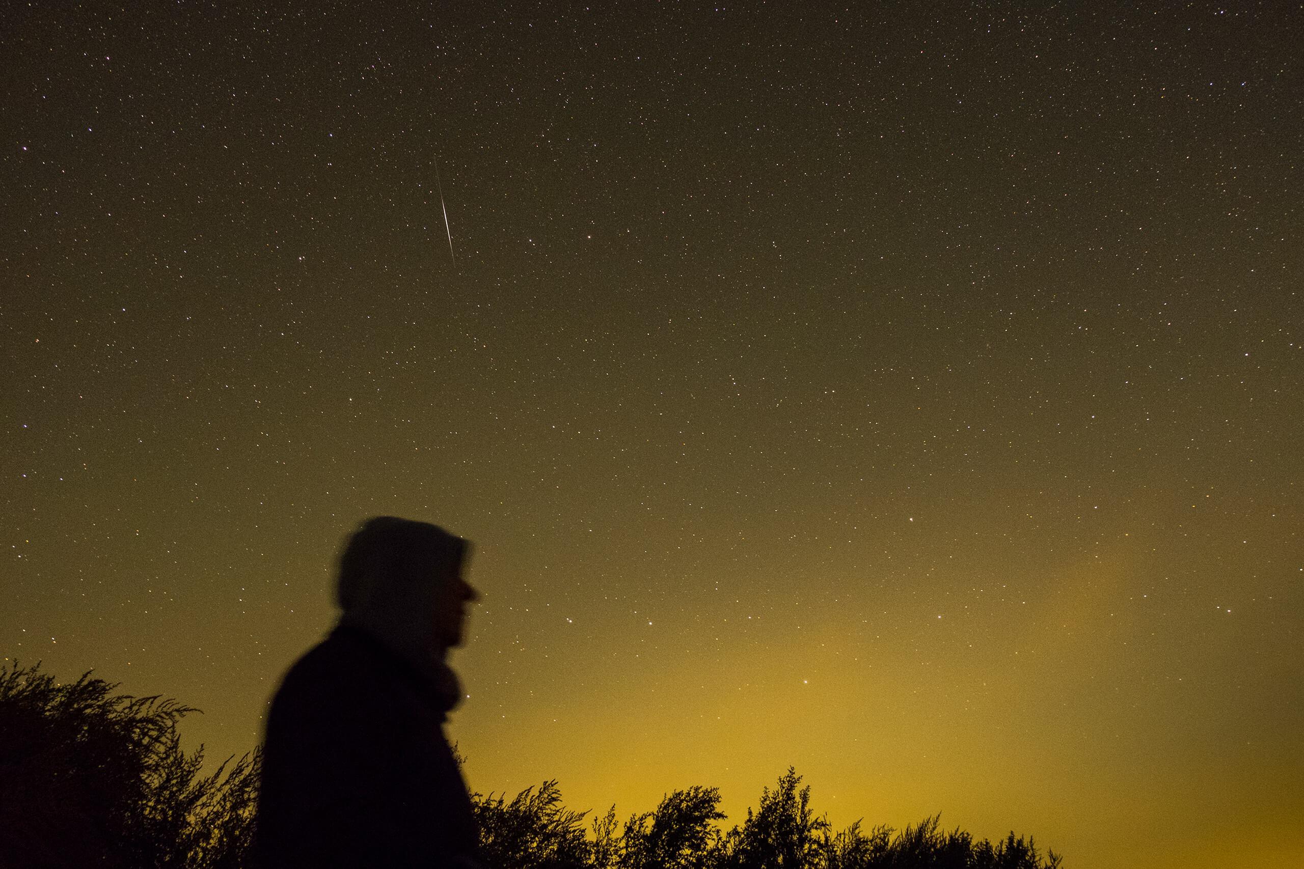sterren avond nachtfotografie