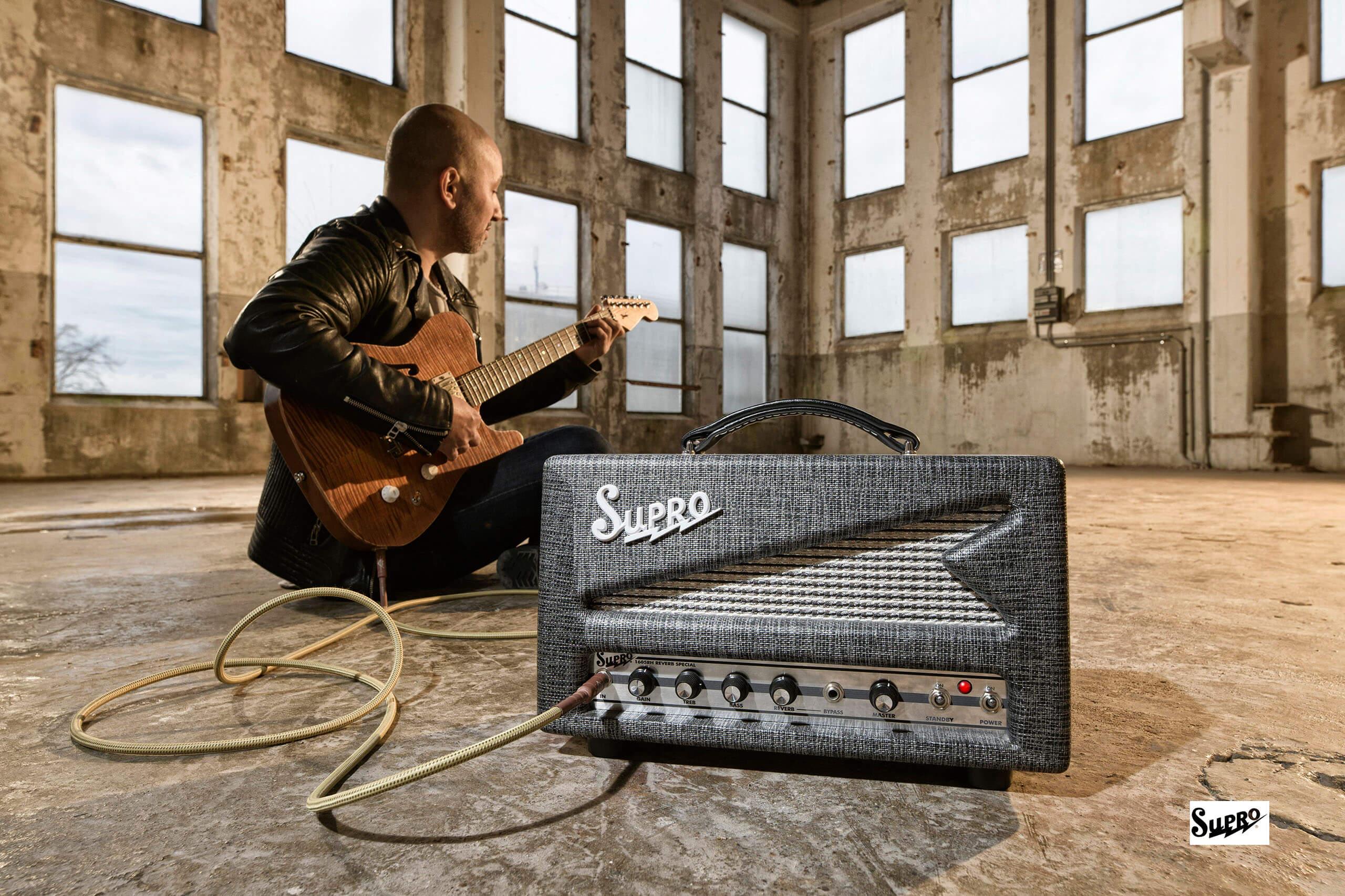 Supro guitar amp campagnefotografie reclamefotografie the fellowship of acoustics