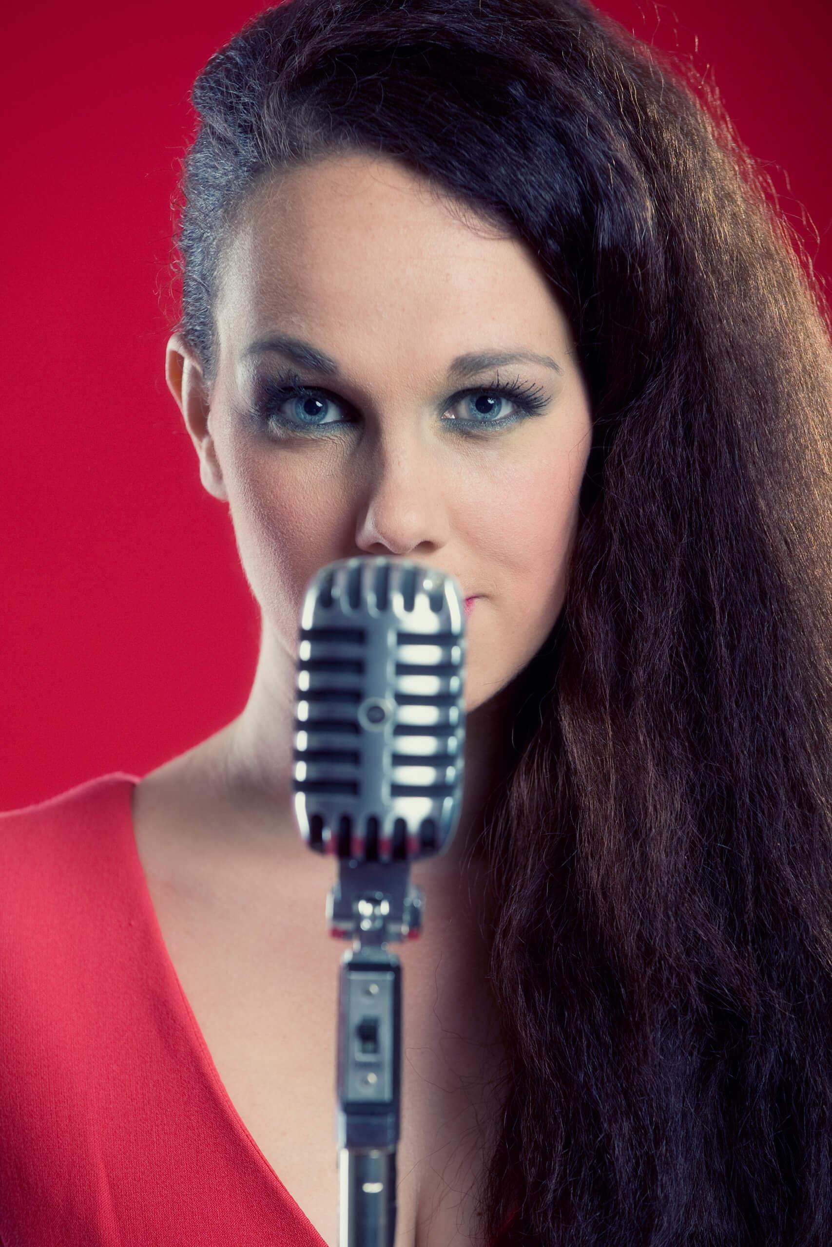 zangeres Anja DalHuijsen